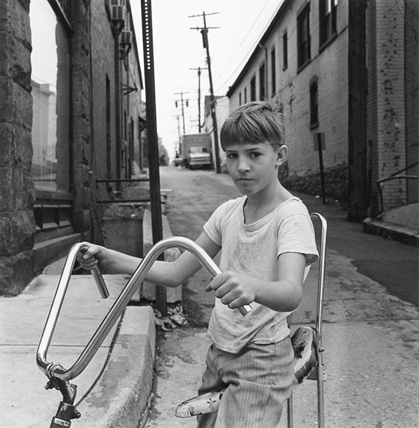 Boy on Bicycle, Bellefonte, Pennsylvania