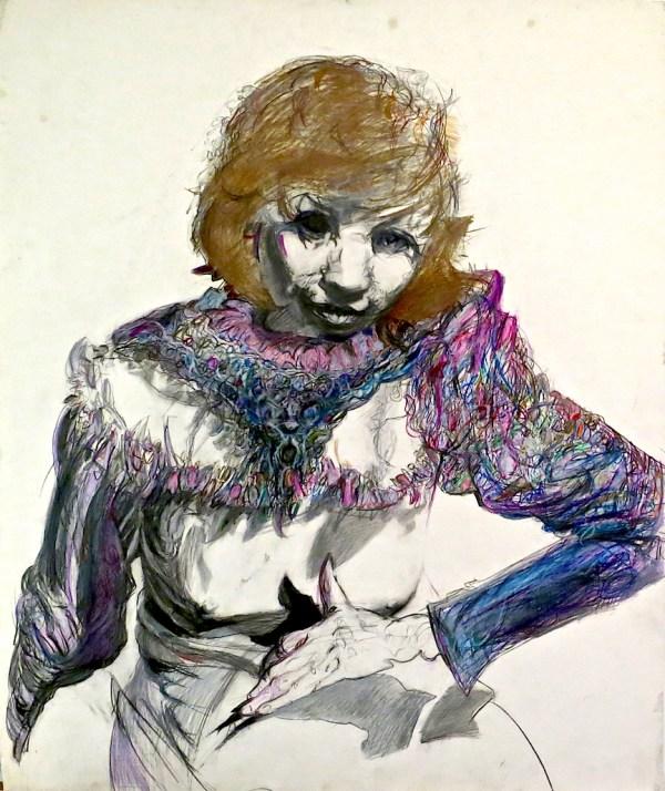 Portrait series: Woman in Purple