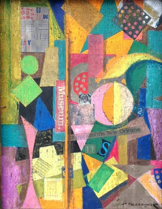 Untitled (Constructivist collage - Museum)