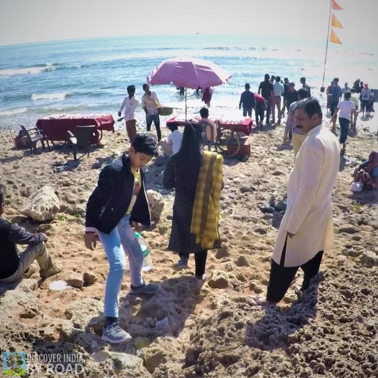 Rocky Beach of Somnath