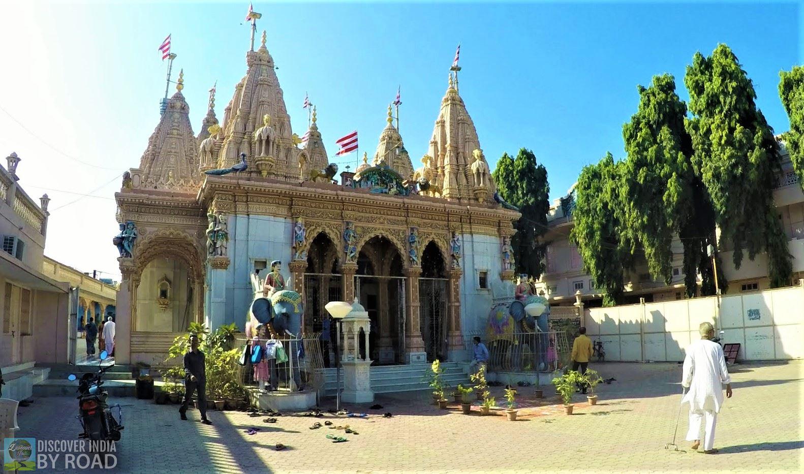 Jetpur Gadisthan temple of Swaminarayan