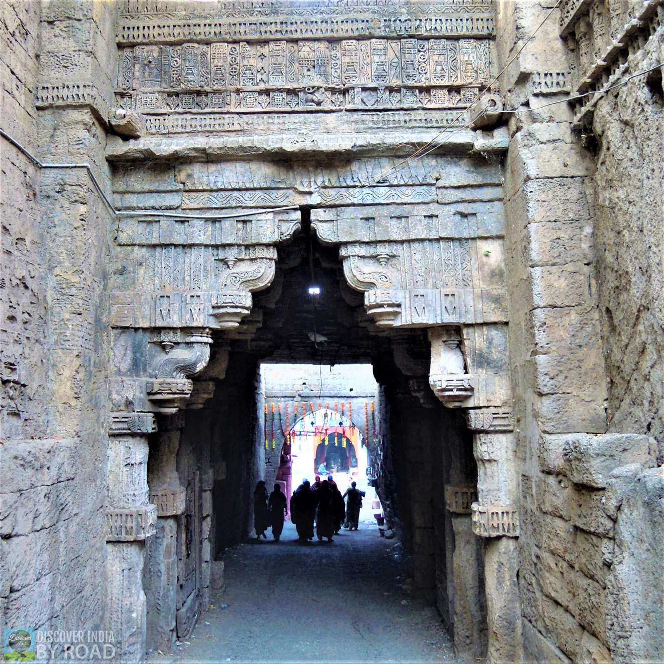 Arch Way to Inside Uperkot fort