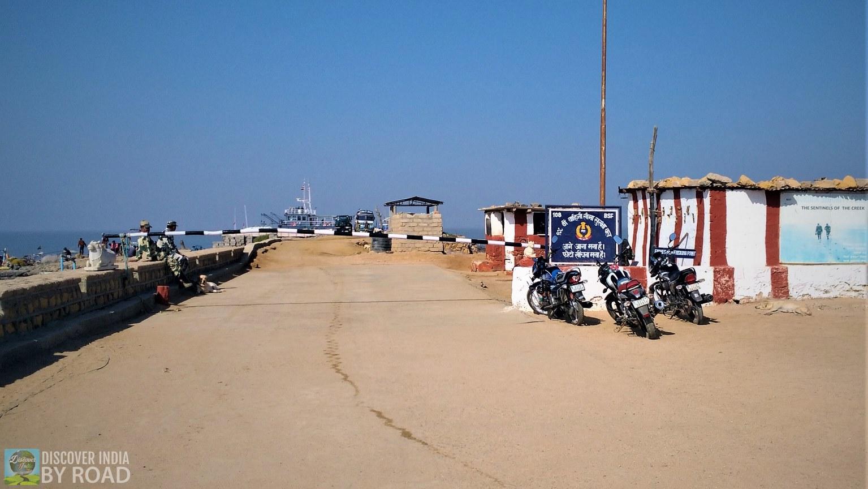 BSF Check post at Koteshwar