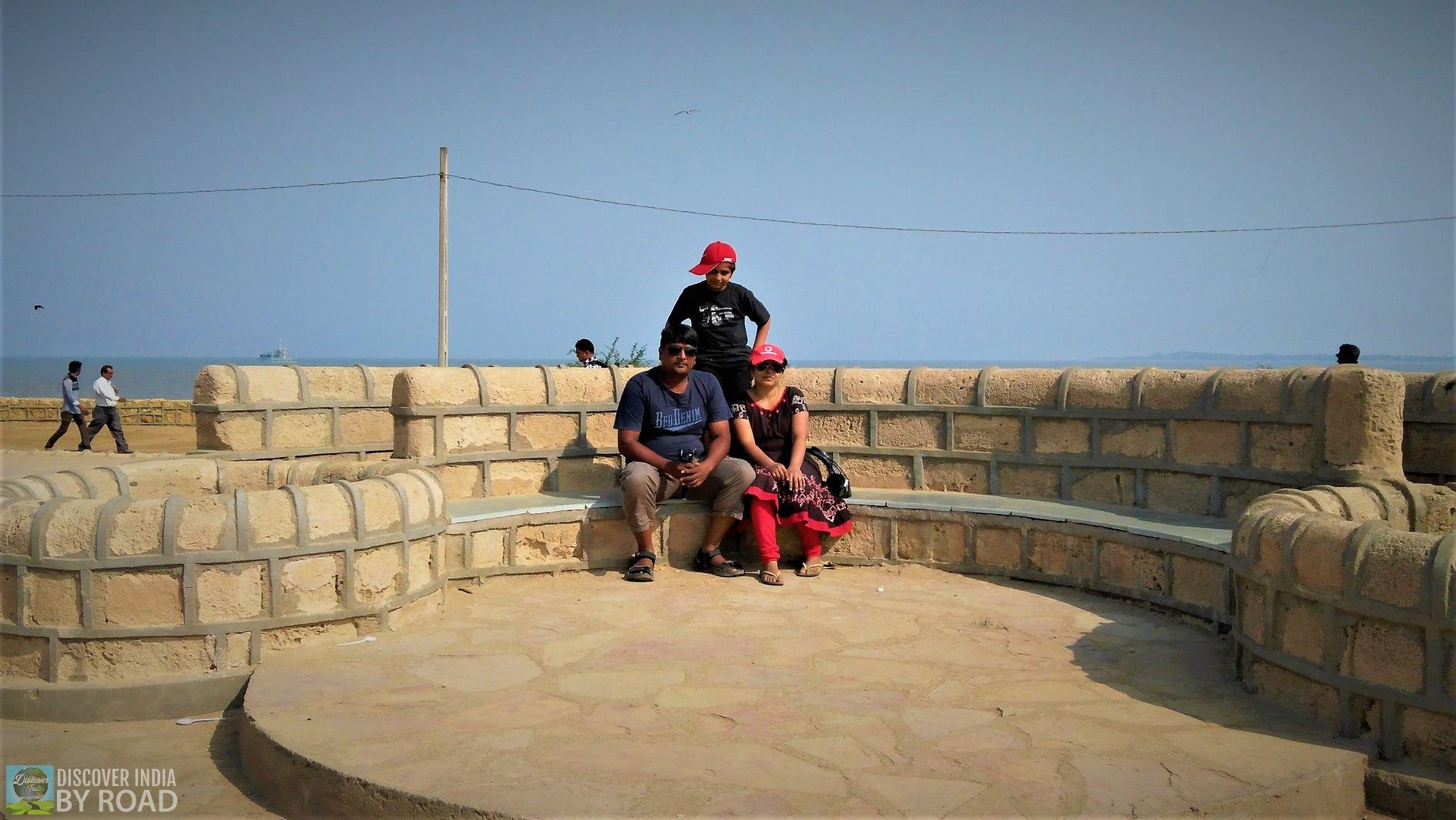 Our Family photo Time at Koteshwar
