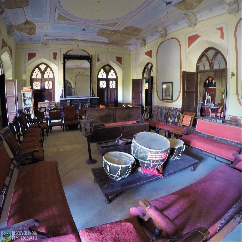 Living room of Prag Mahal Palace