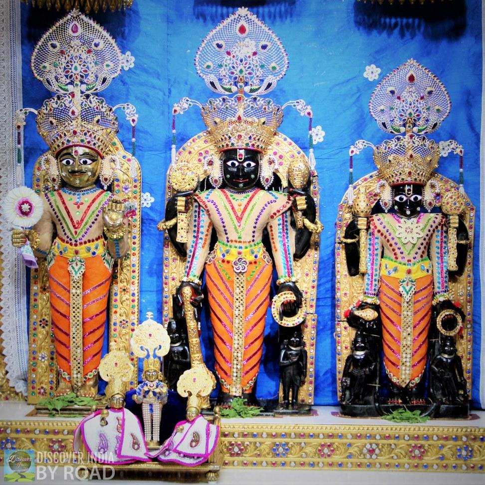 Idol of Narnarayan Devji at Shree Swaminarayan Temple Bhuj