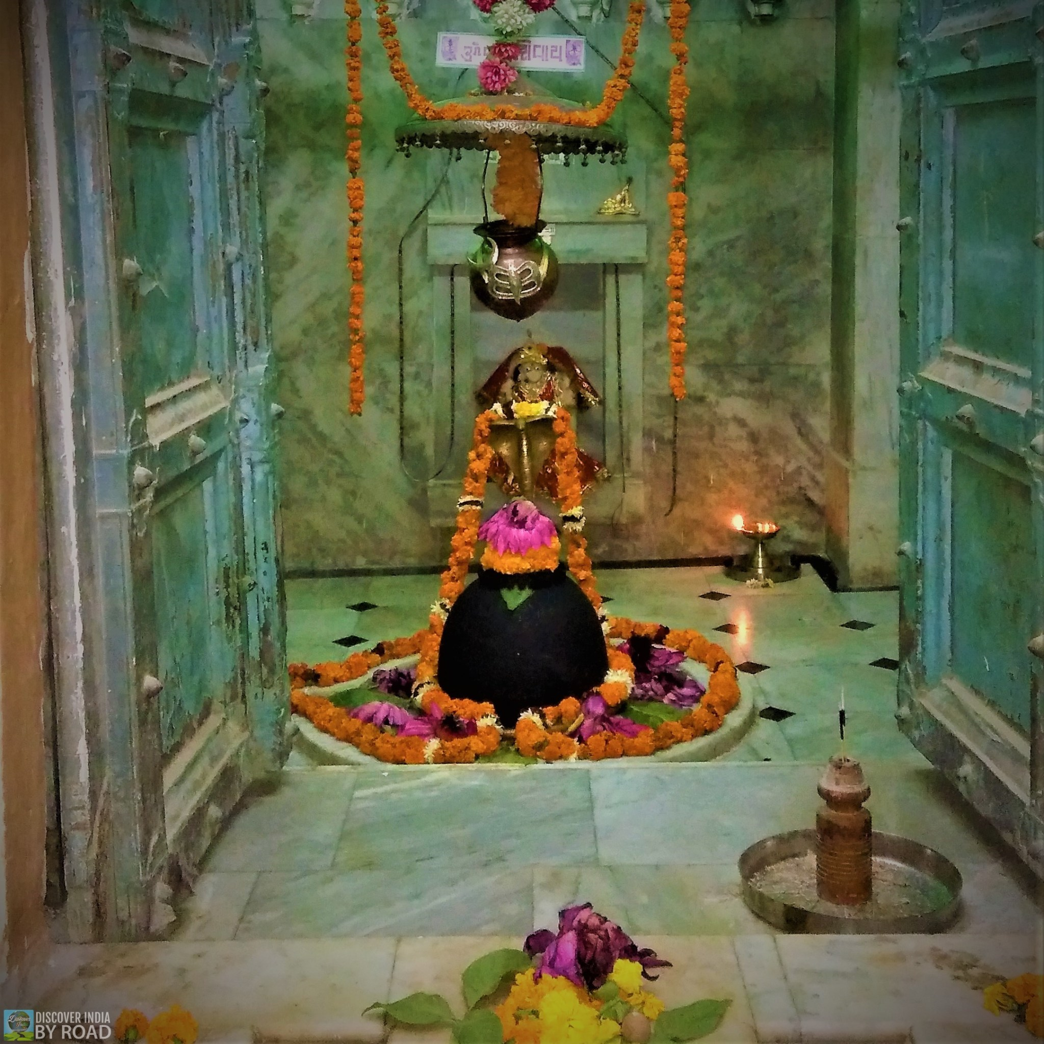 Shiva Linga inside Koteshwar Mahadev temple