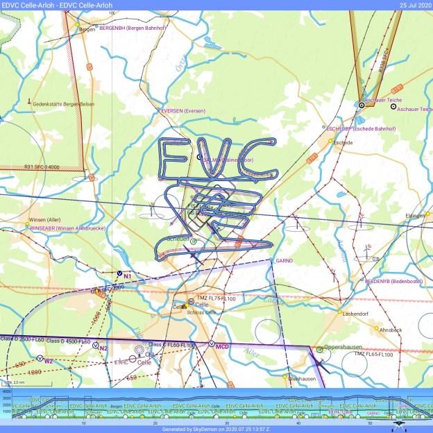 FVC Logo Skywriting