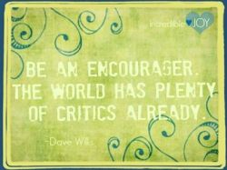Hey Encourager's!