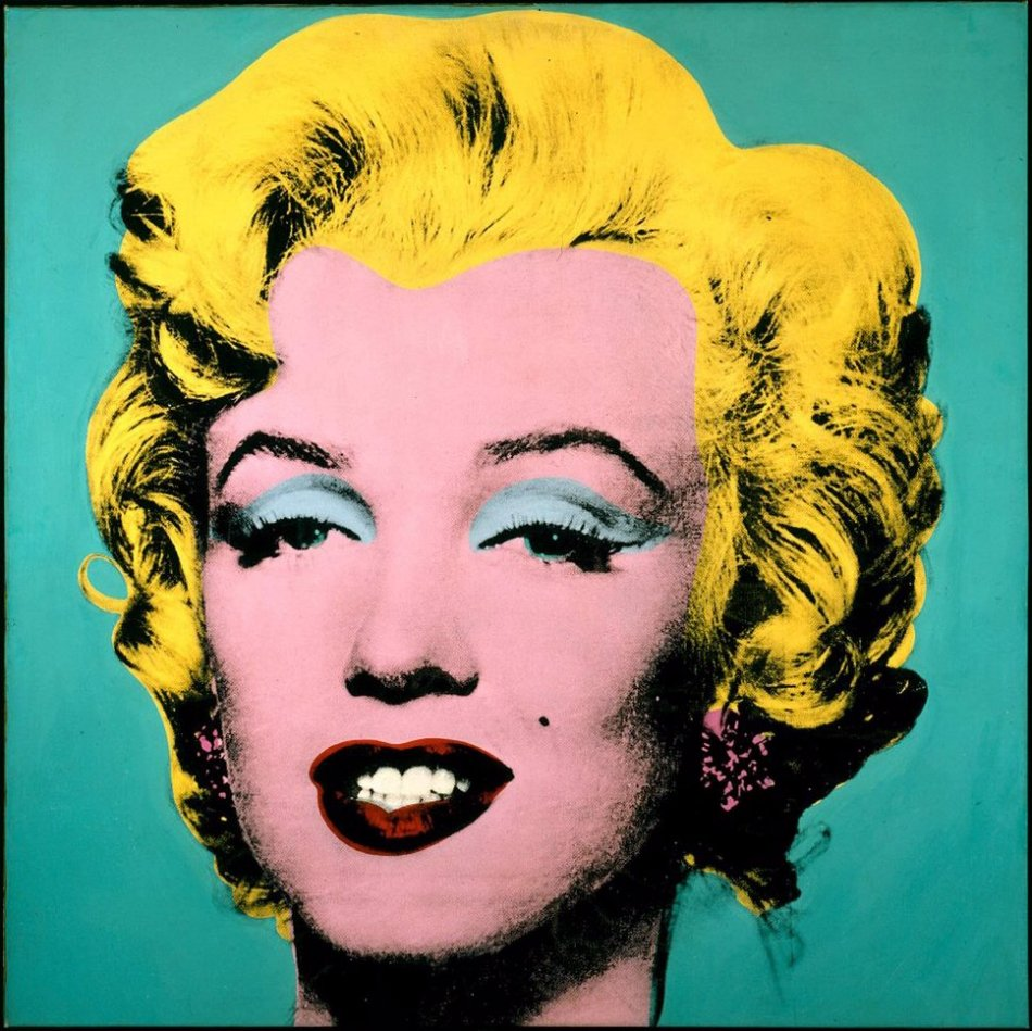 Marilyn Monroe by Andy Warhol, exhibition in Ypres
