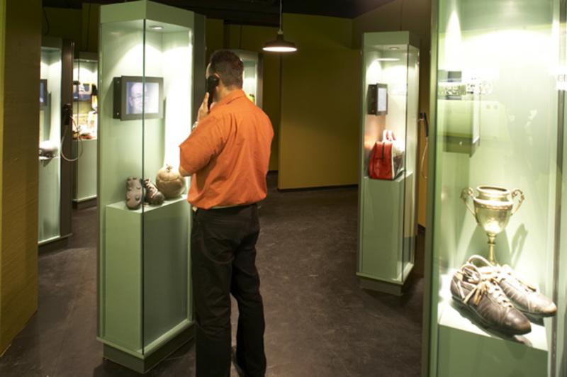 Goalmine-museum cases