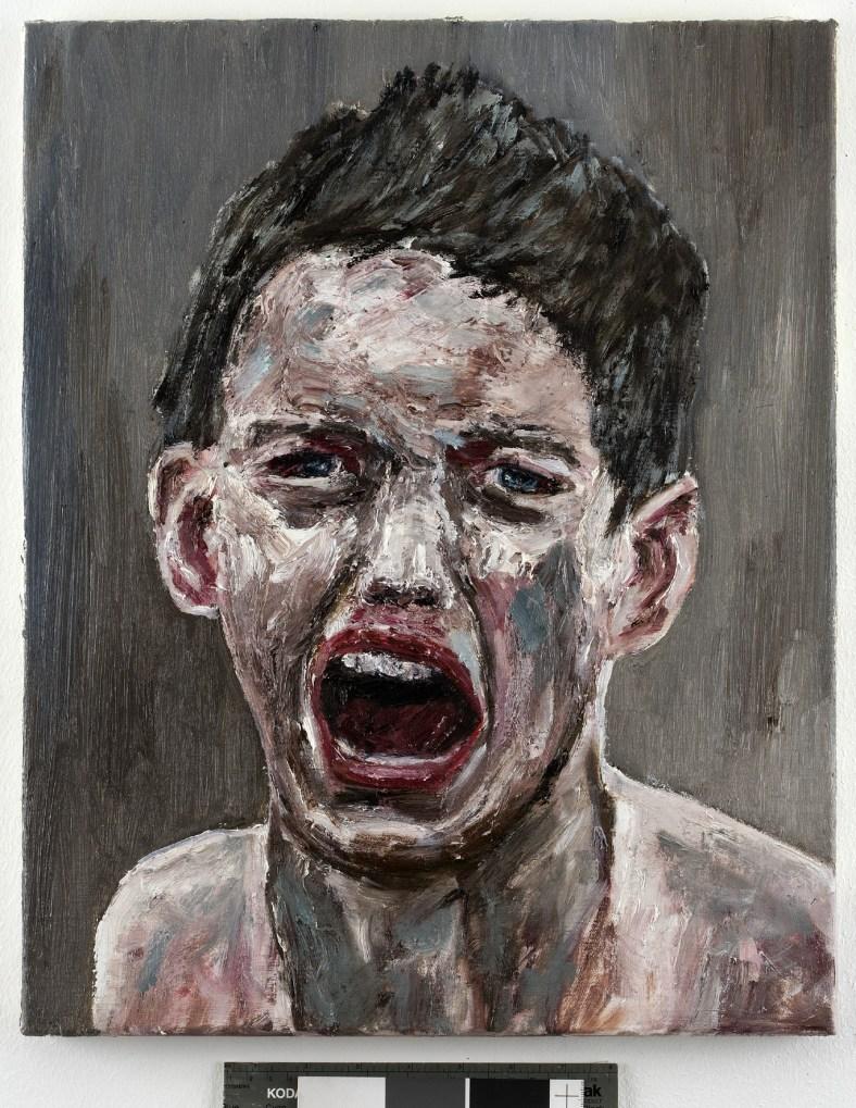 Ronald Ophuis, Beslan II, 2008, olie op doek. Privécollectie
