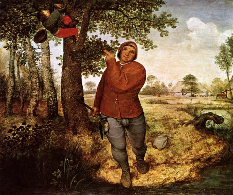 The Peasant and the Nest Robber (1568)