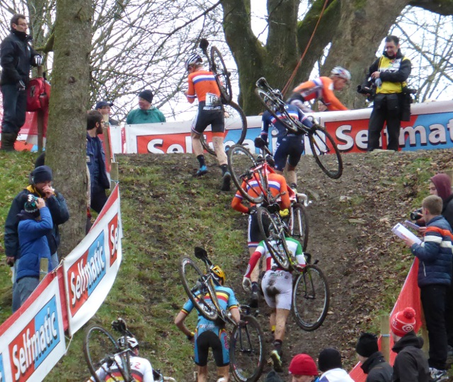 Cyclocross at Namur Citadelle