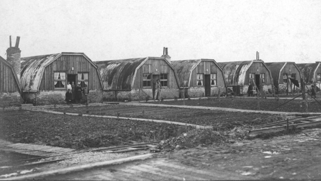 Flanders Fields reconstruction after Armistice 1918