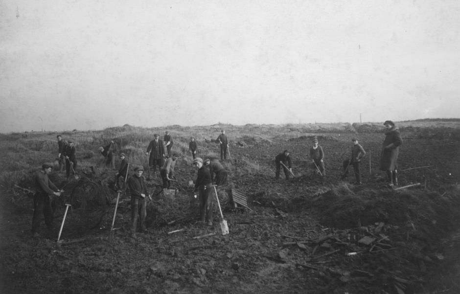 Reconstructing Flanders Fields after World War One