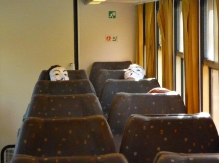 Train from Liege to Rivage