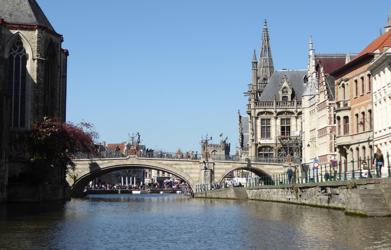 St Michael's Bridge, Gent