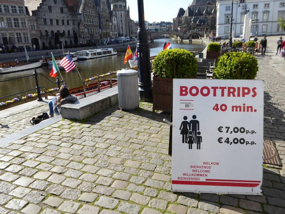 Ghent-boat trip