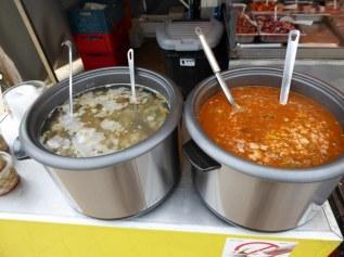 Fish soup, Oostende, Belgium