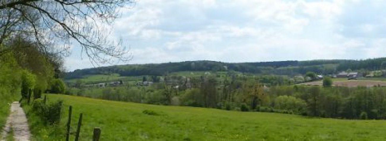 The beautiful Voerstreek of Limburg, Belgium
