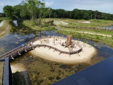 Children's Playground, Het Zwin Nature Park, Knokke-Heist, Belgium