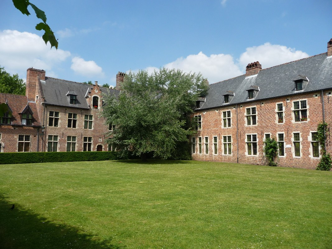 Leuven beguinage or Groot Begijnhof