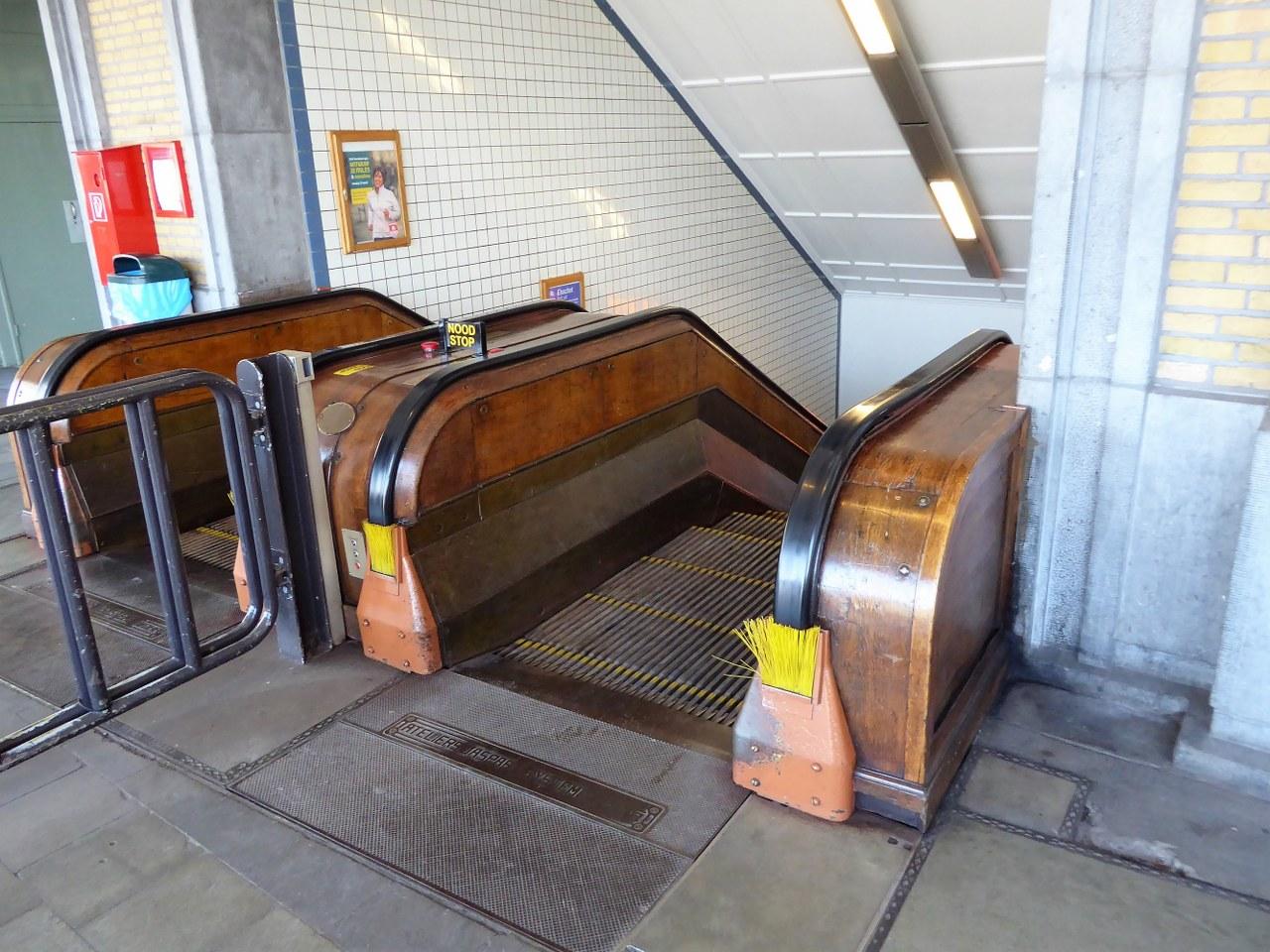 St Anna's Tunnel Antwerp