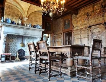 Beauvoorde Castle near Veurne, Belgium