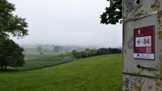 Walking in Picardy Wallonia, Belgium