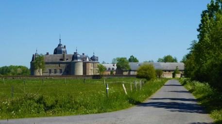 The castle of Lavaux-Sainte-Anne