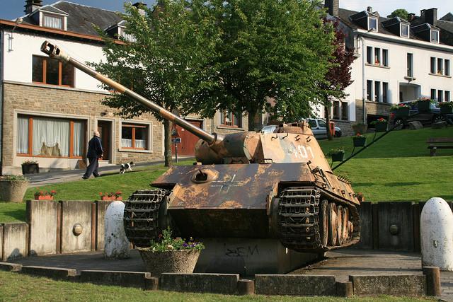 Panzer tank Houffalize