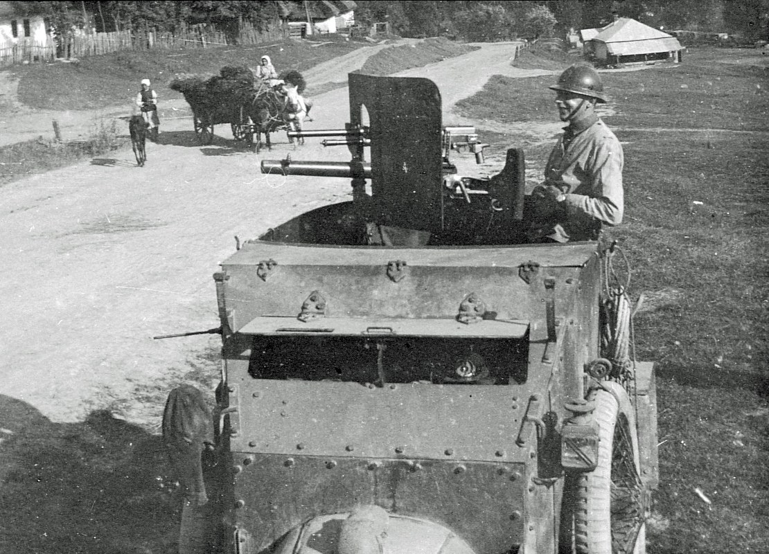 ACM armoured car at the Galician Front