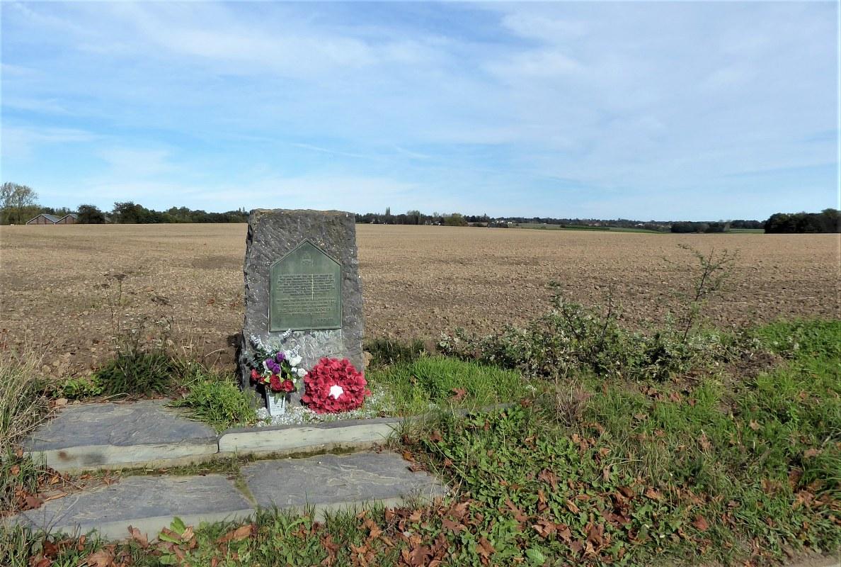 Memorial Inniskilling Regiment, Waterloo Battlefield, Belgium