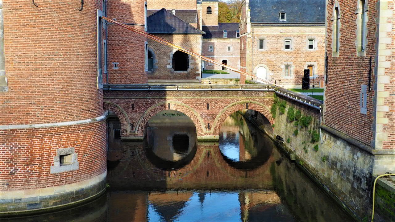 Grand Commandery Alden Biesen castle moat
