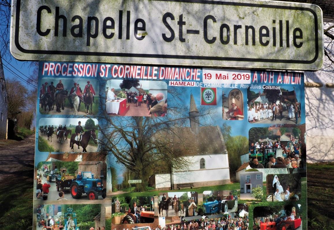 Chapelle St.Corneille procession