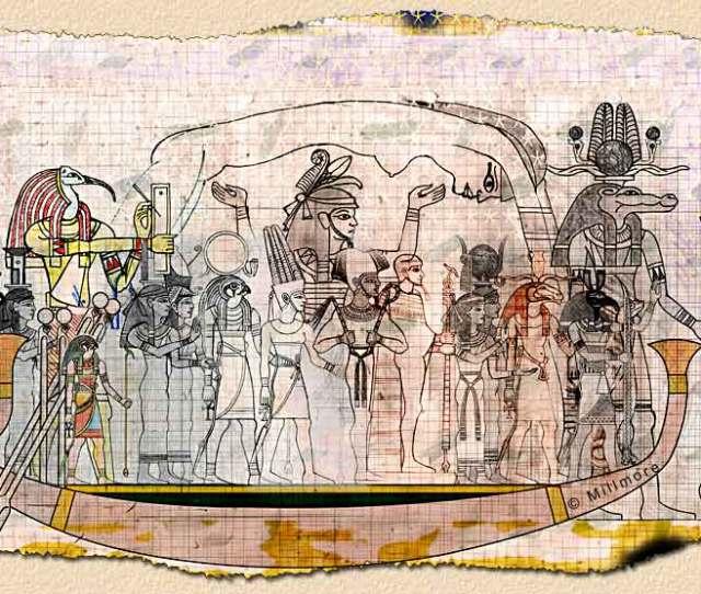Ancient Egyptian Gods And Goddesses
