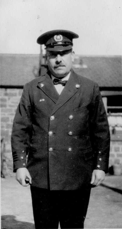 Photo Frederick Coney Gosforth Fire Brigade