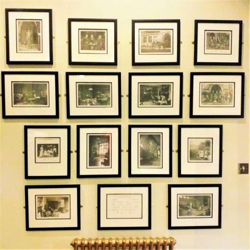 Old photogrpahs at Jesmond Dene House