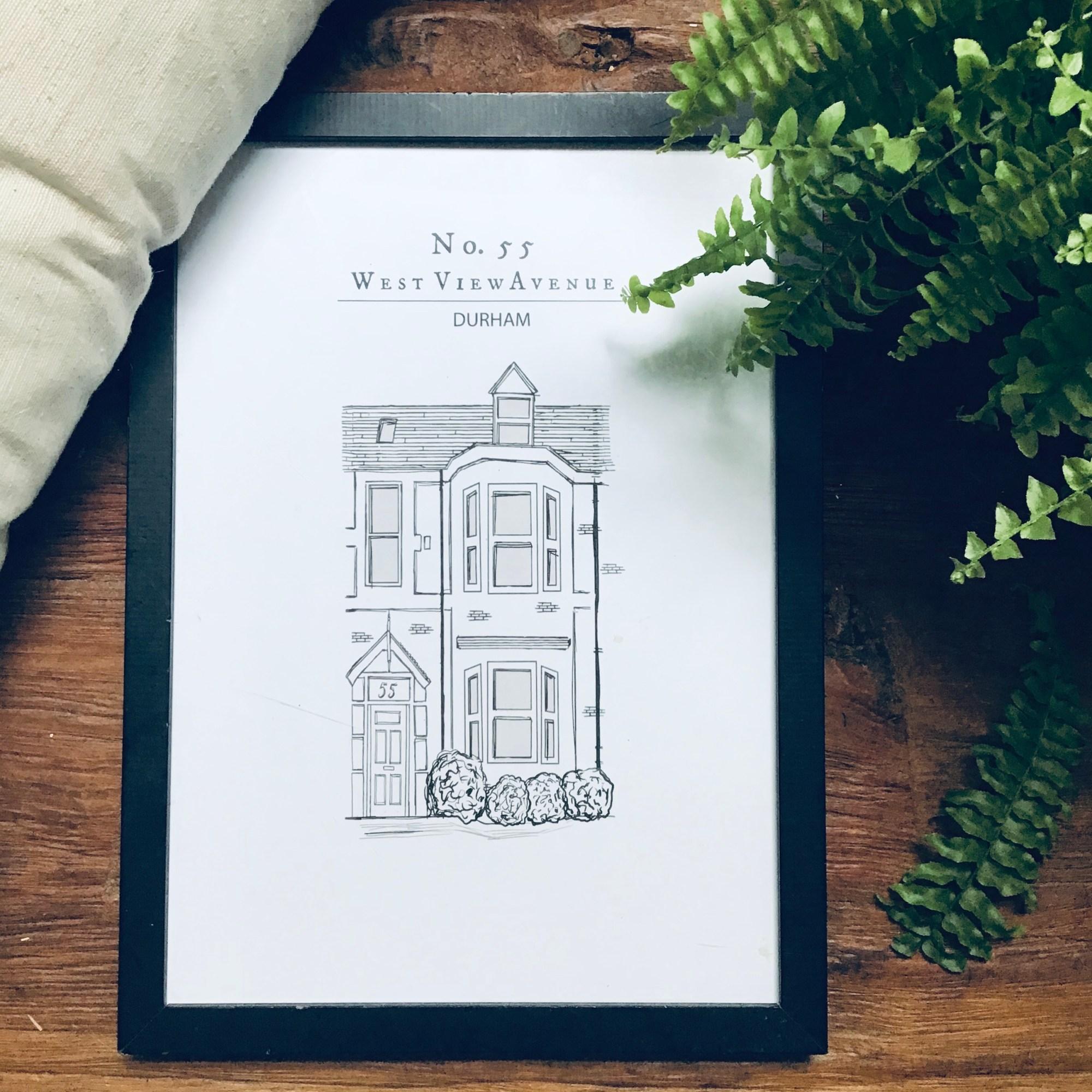 Little Histories Shop House Illustration