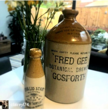 Fred Gee of Gosforth Botanical Brewers earthenware