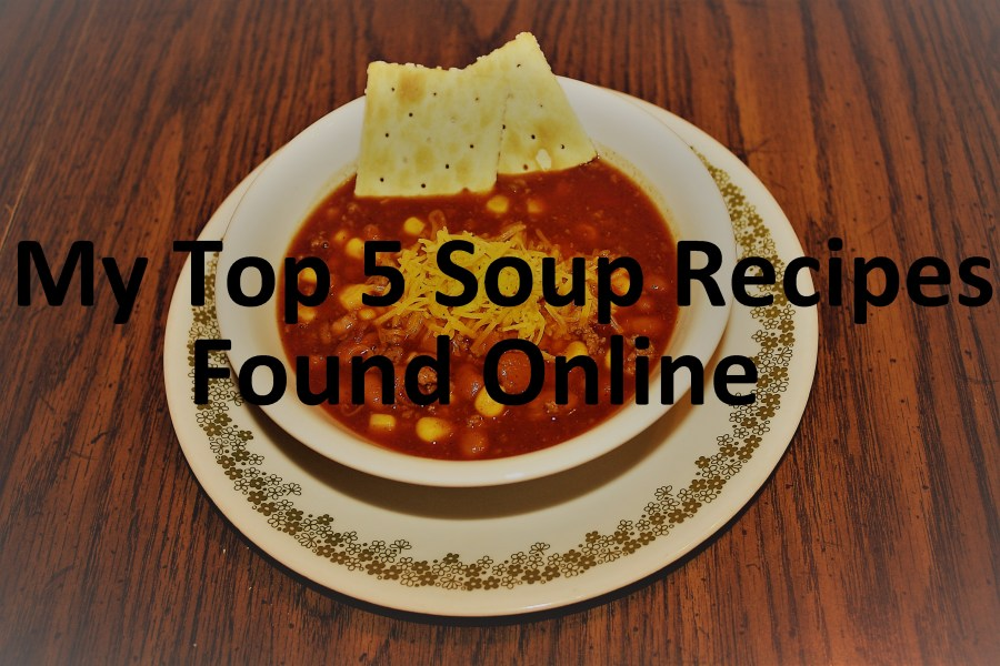 Top 5 favorite soups found online!