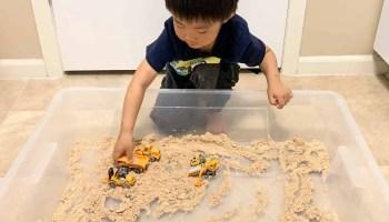 2 Ingredient Homemade Sand Recipe: SUPER EASY!