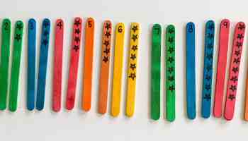 Homeschool Preschool Counting Numbers 1-10