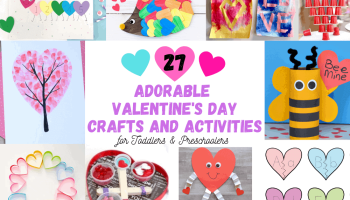 27 Valentine's Day Crafts and Activities for Preschoolers
