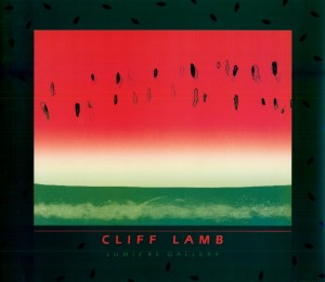Cliff Lamb-Watermelon Poster