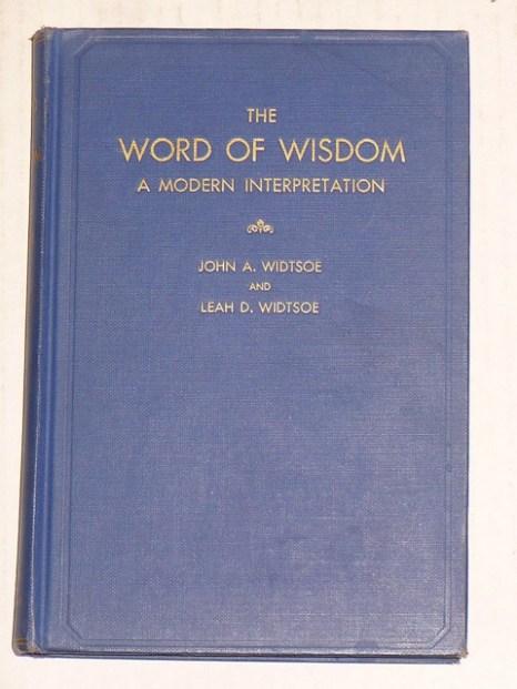 Widtsoe 1950 WoW Edition