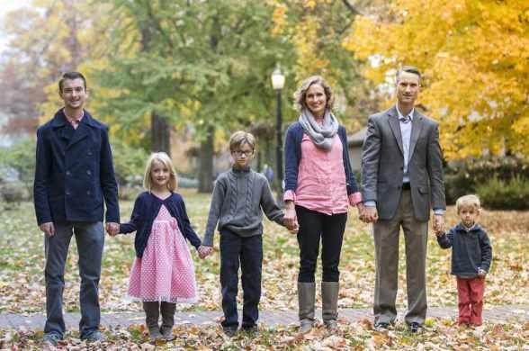 Chad Harston family