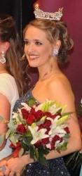 Winning my city pageant, 2008