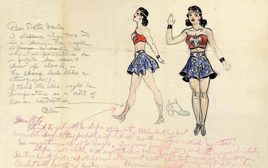 Wonder Woman in original costume